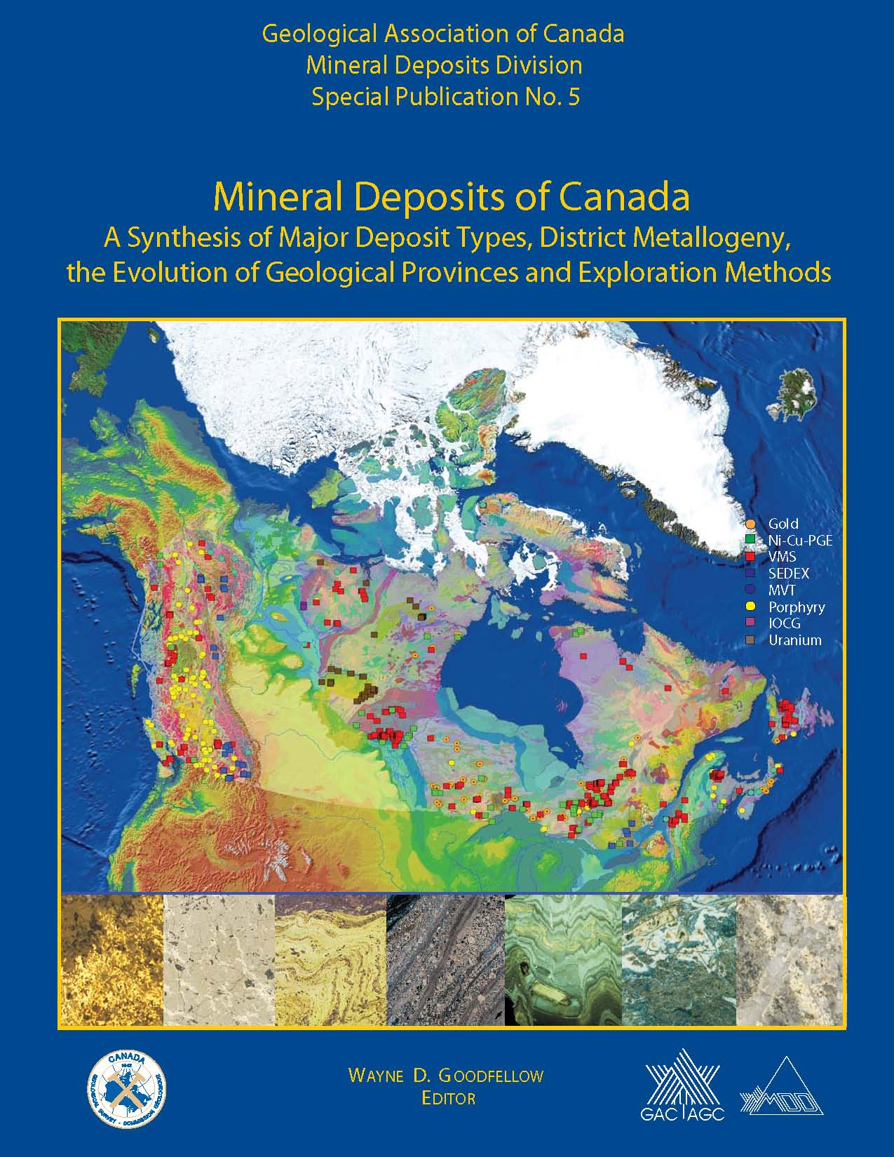 MDD SP 5: Mineral Deposits of Canada: A Synthesis of Major